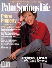 Palm Springs Life magazine - May 1992