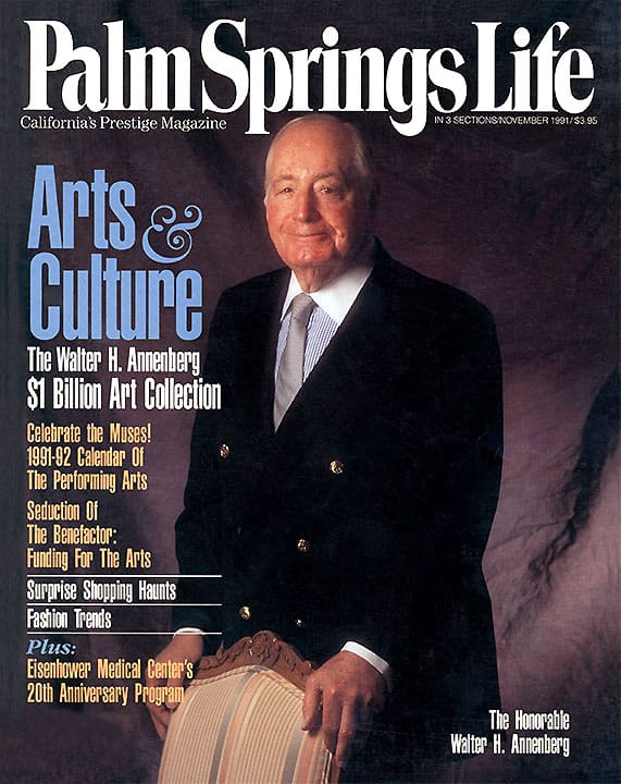 Palm Springs Life magazine - November 1991