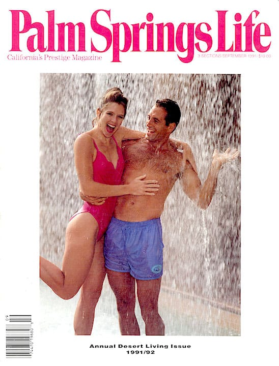 Palm Springs Life magazine - September 1991