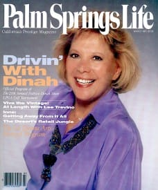 Palm Springs Life magazine - March 1991
