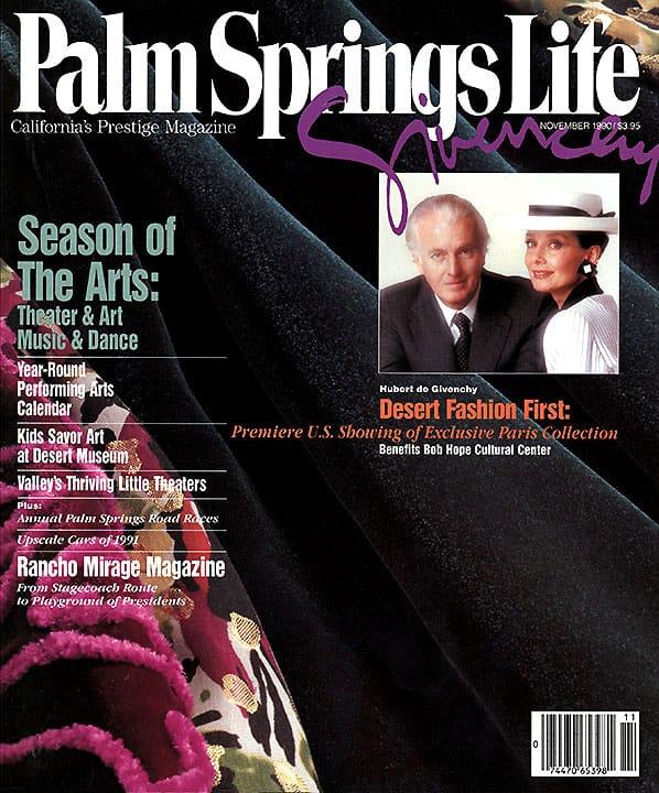 Palm Springs Life magazine - November 1990