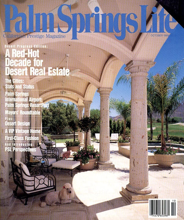 Palm Springs Life magazine - October 1989