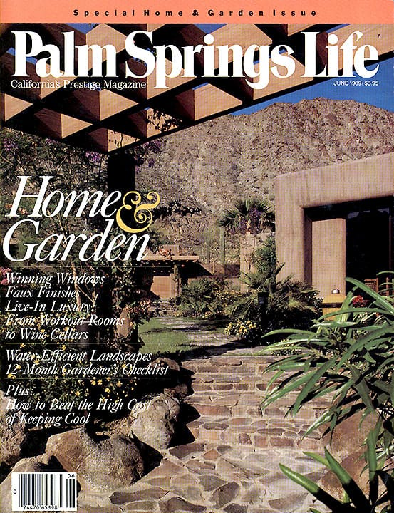 Palm Springs Life magazine - June 1989