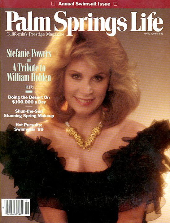 Palm Springs Life magazine - April 1989