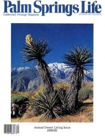 Palm Springs Life magazine - September 1988