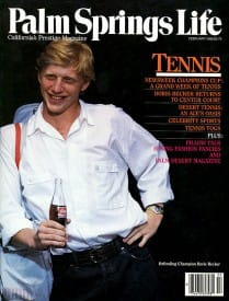 Palm Springs Life magazine - February 1988