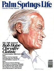 Palm Springs Life magazine - January 1988