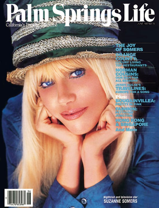 Palm Springs Life magazine - June 1987