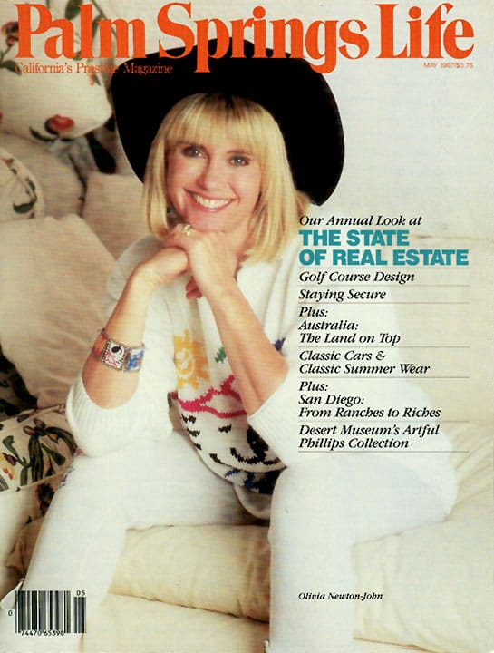 Palm Springs Life magazine - May 1987