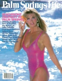 Palm Springs Life magazine - August 1986