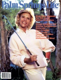 Palm Springs Life magazine - March 1986