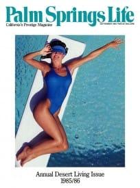 Palm Springs Life magazine - September 1985