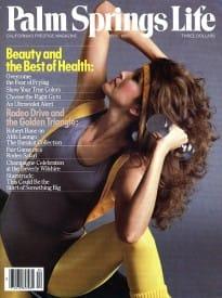 Palm Springs Life magazine - April 1985