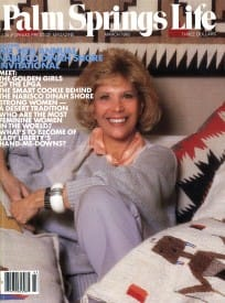 Palm Springs Life magazine - March 1985