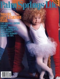 Palm Springs Life magazine - November 1984