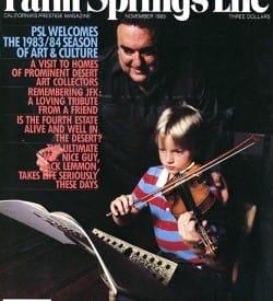 Palm Springs Life magazine - November 1983
