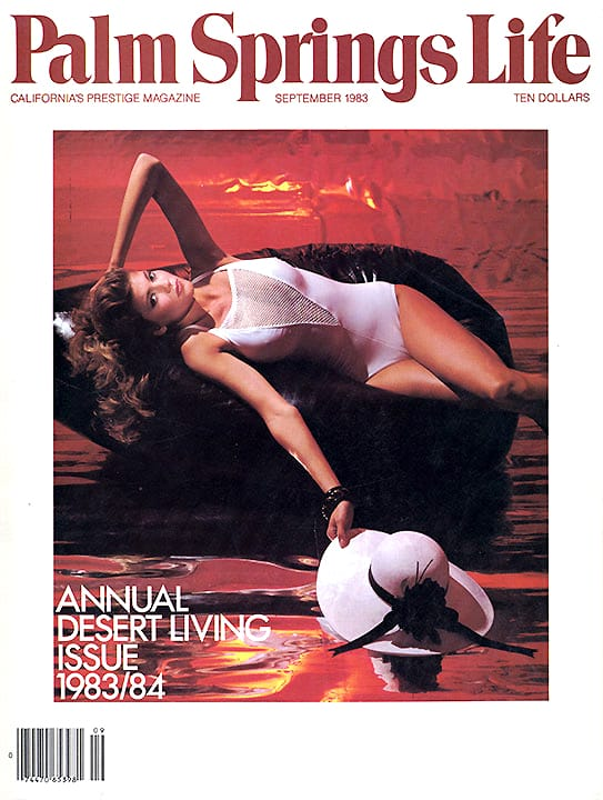 Palm Springs Life magazine - September 1983