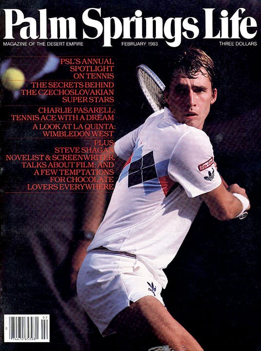 Palm Springs Life magazine - February 1983