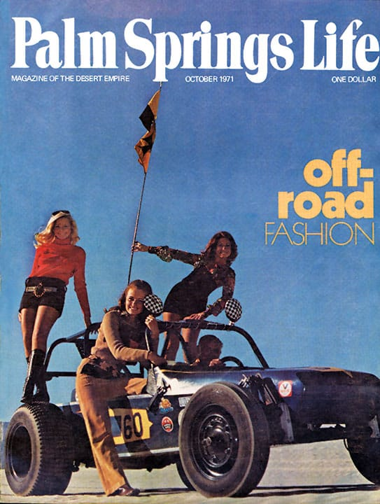 Palm Springs Life magazine - October 1971