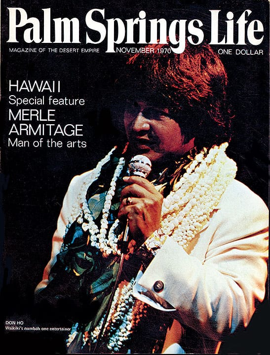 Palm Springs Life magazine - November 1970