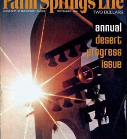 Palm Springs Life magazine - September 1970
