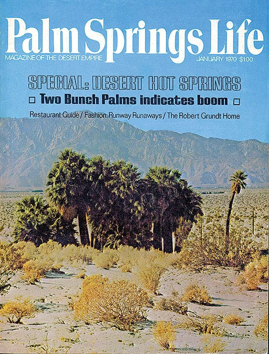 Palm Springs Life magazine - January 1970
