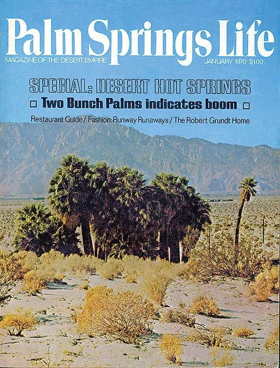 Palm Springs Life magazine - January 1970