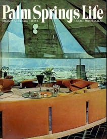 Palm Springs Life magazine - October 1969