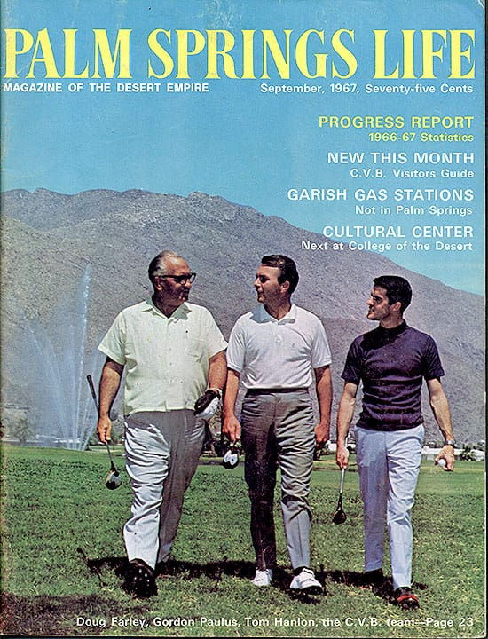 Palm Springs Life magazine - September 1967