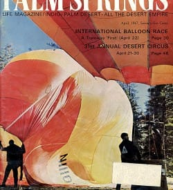 Palm Springs Life magazine - April 1967