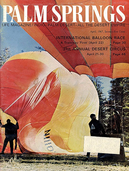 Palm Springs Life magazine - April 1967