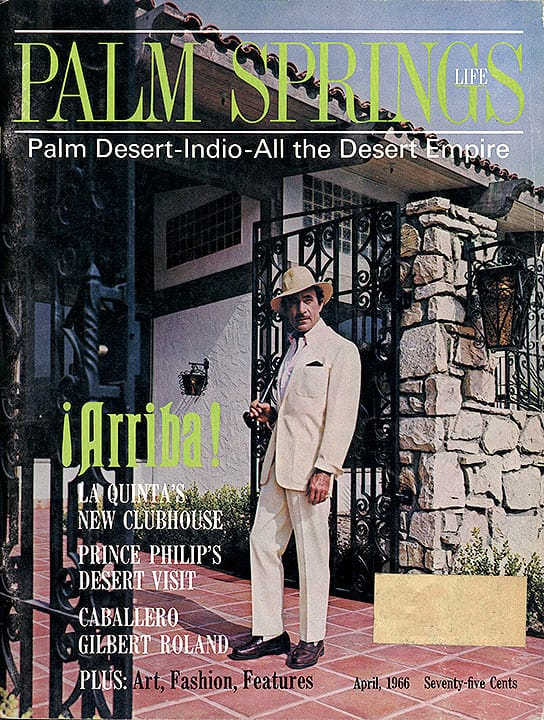 Palm Springs Life magazine - April 1966