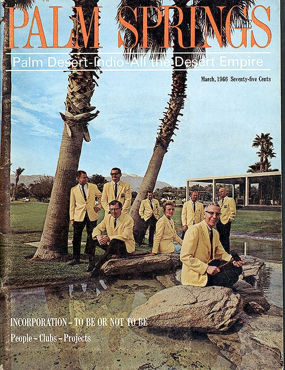 Palm Springs Life magazine - March 1966