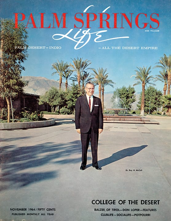 Palm Springs Life magazine - November 1964