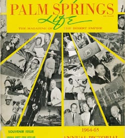 Palm Springs Life magazine - September 1964
