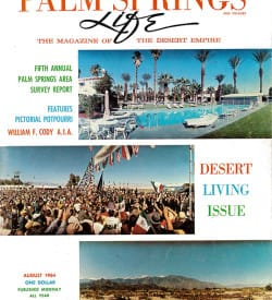 Palm Springs Life magazine - August 1964