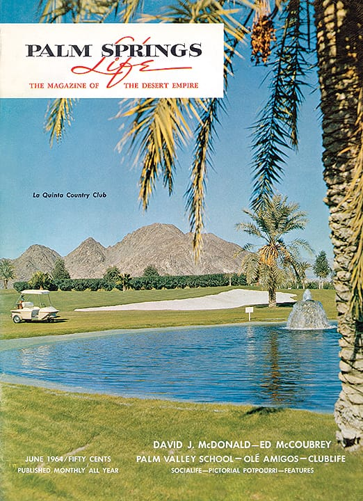Palm Springs Life magazine - June 1964