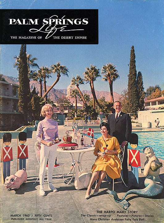 Palm Springs Life magazine - March 1963
