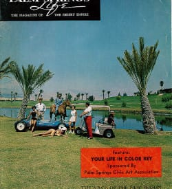 Palm Springs Life magazine - October 1962