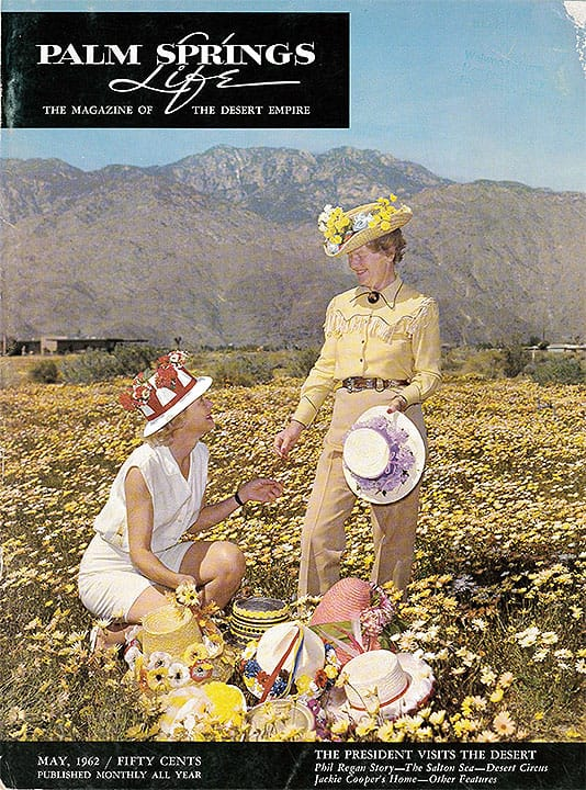 Palm Springs Life magazine - May 1962