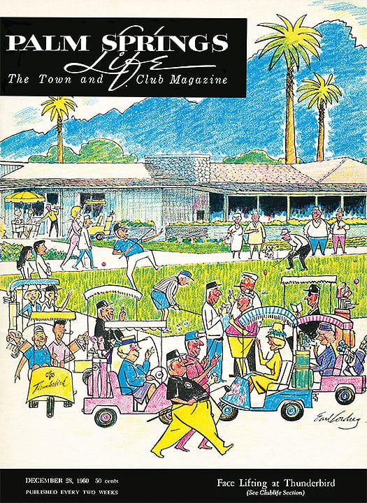 Palm Springs Life magazine - December 28 1960