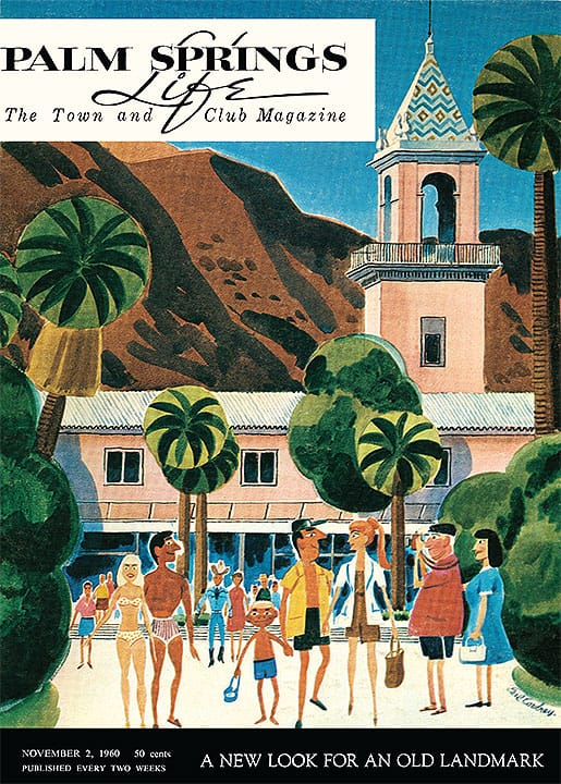 Palm Springs Life magazine - November 2 1960