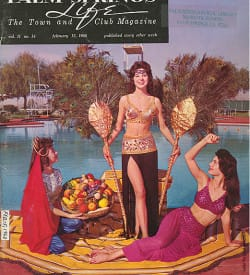 Palm Springs Life magazine - February 15 1960