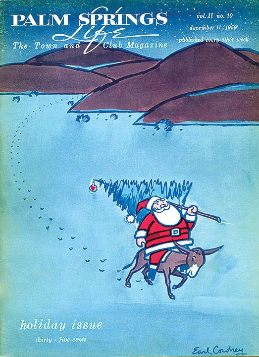Palm Springs Life magazine - December 11 1959