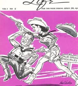 Palm Springs Life magazine - April 20 1958