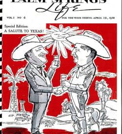 Palm Springs Life magazine - April 13 1958