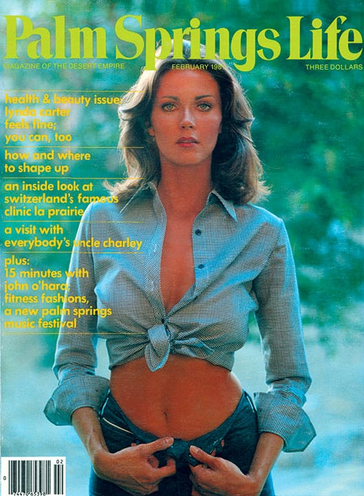 Palm Springs Life magazine - February 1981