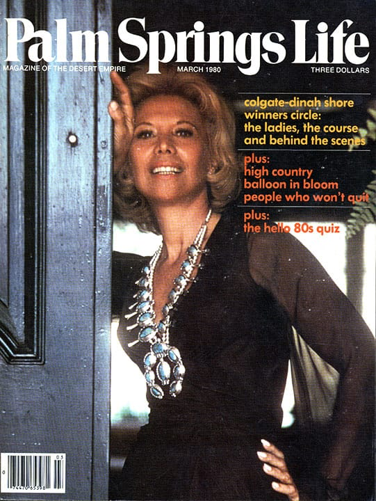 Palm Springs Life magazine - March 1980