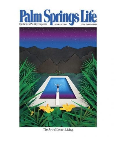 PAlm Springs Life September 2001 Cover