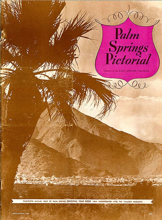 Palm Springs Villager magazine - July-Aug 1950